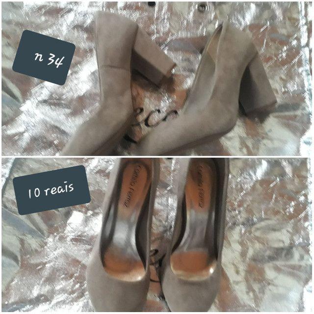 Vendo sapatos bons n 34 36 38 39 40