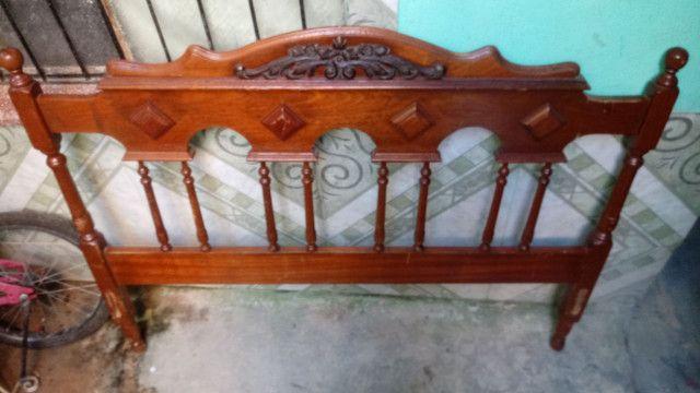 Cabeceira de cama antiga - Foto 3