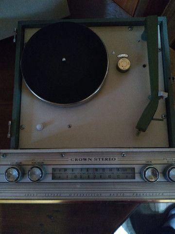 Linda e Rara !!! Vitrola japonesa anos 60 funcionando !!! - Foto 4