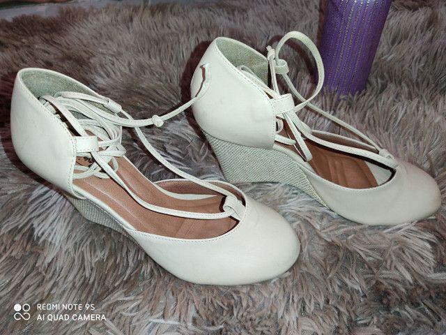 Sapato usado uma x - Foto 2
