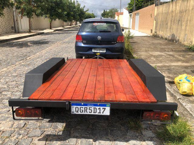Prancha dois eixos com garantia - Foto 2