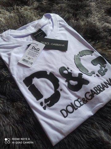 camiseta malha peruana em atacado  - Foto 3