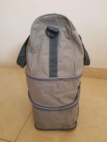Bolsa sacola com fechos expansivos - 3 possíveis tamanhos - Foto 4