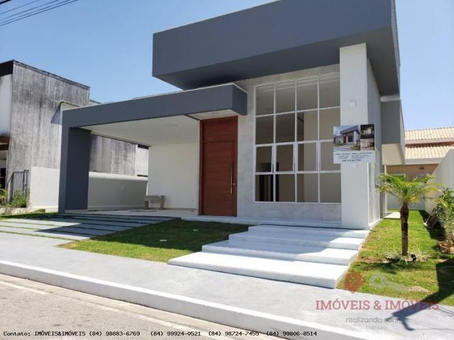 Casa em Condomínio para Venda em Parnamirim, PARQUE DAS NAÇÕES, 3 dormitórios, 3 suítes