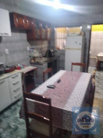 Casa com 3 dormitórios à venda, 100 m² por R$ 381.000,00 - Santa Maria - Santos/SP - Foto 2