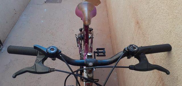 Bicicleta semi nova. - Foto 2