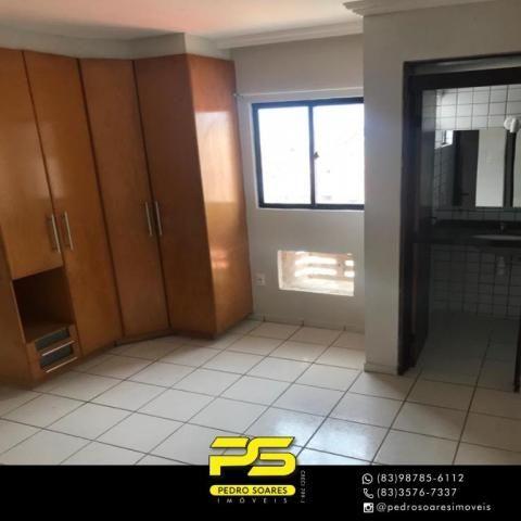 Apartamento com 3 dormitórios à venda, 90 m² por R$ 300.000 - Jardim Cidade Universitária  - Foto 4
