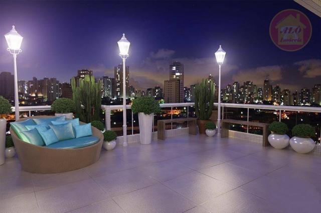 Apartamento à venda, 84 m² por R$ 370.000,00 - Tupi - Praia Grande/SP - Foto 3