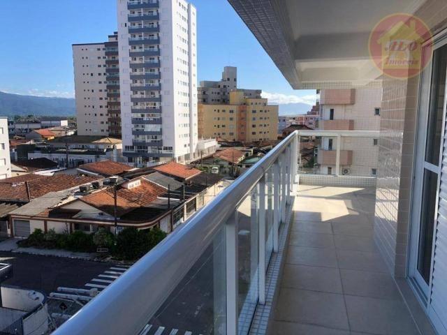 Apartamento à venda, 84 m² por R$ 370.000,00 - Tupi - Praia Grande/SP