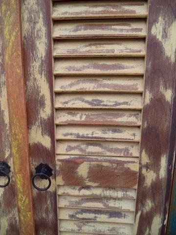 sapateira rustica em madeira de demoliçao - Foto 6