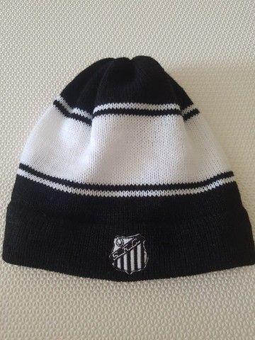 Gorro De Lã Customizável Santos Futebol