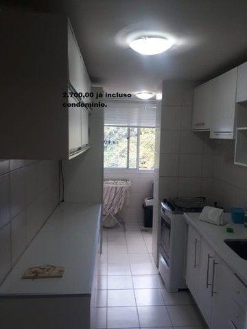 Apartamento com 2 quartos sendo 1 no Aleixo 100% mobiliado, - Foto 10