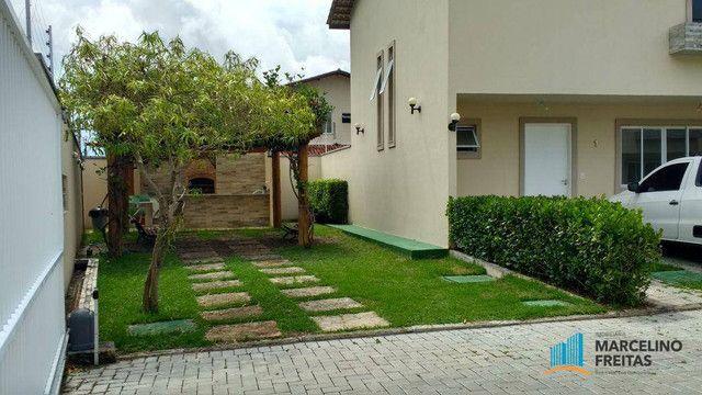 Casa com 3 dormitórios para alugar, 104 m² por R$ 1.109,00/mês - Lagoinha - Eusébio/CE - Foto 7
