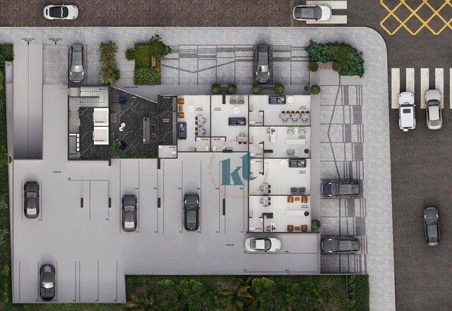 Flat com 1 dormitório à venda, 20 m² por R$ 145.235,00 - Manaíra - João Pessoa/PB - Foto 14