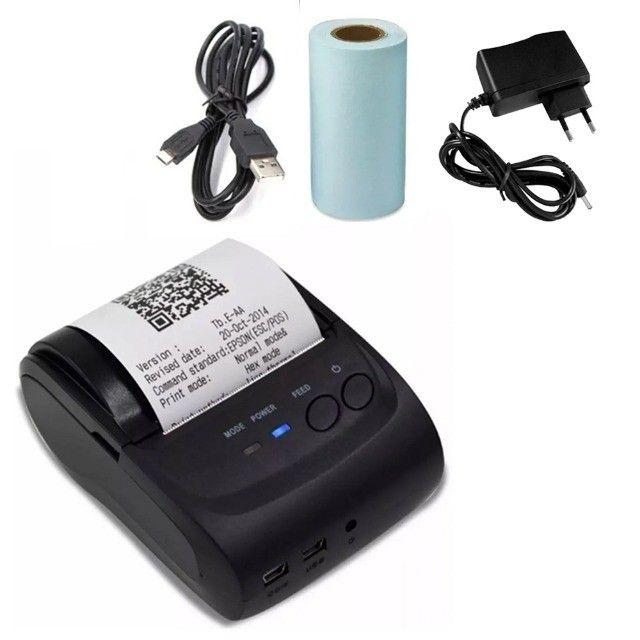 Impressora Térmica Cupom Fiscal Comprovante Bluetooth Celular Computador Pc Android iOs - Foto 2