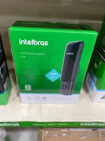 Fechadura digital Intelbras FR10