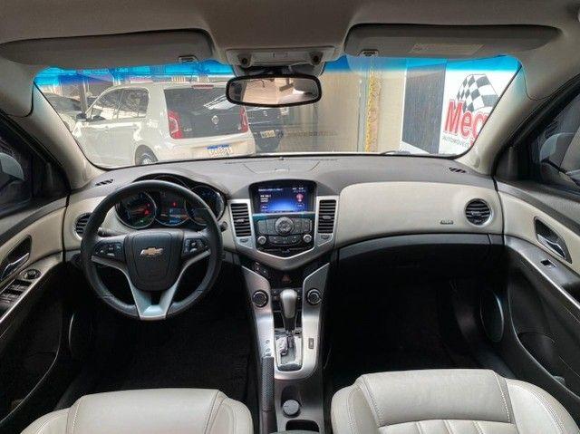 gm Cruze Sedan ltz 2014 Mais completo da categoria + Emplacamento 2021 Pago  - Foto 9