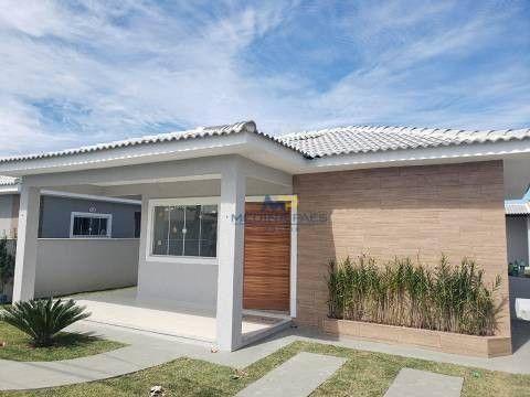 Casa com 3 dormitórios à venda, 109 m² por R$ 420.000,00 - Caxito - Maricá/RJ