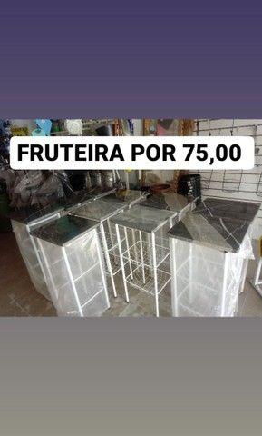Fruteira com tampo de granito por 75,00 - Foto 2