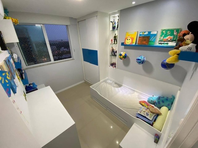 AB135 - Apartamento todo projetado/ 03 quartos/ Varanda gourmet - Foto 5