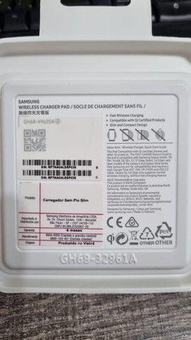 Carregador Rápido Sem Fio Original Samsung Slim Fast Charger - Foto 3
