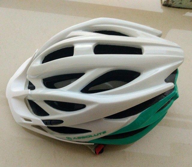 Capacete  ciclismo novo