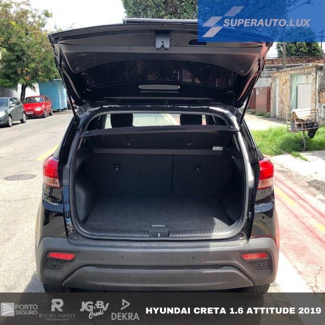 Hyundai Creta 1.6 Attitude AT6 2019 - Foto 8