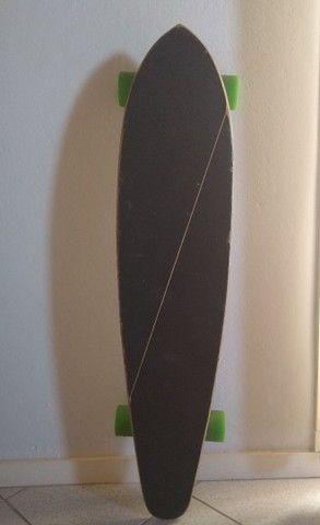 Longboard montado- semi novo - Foto 2