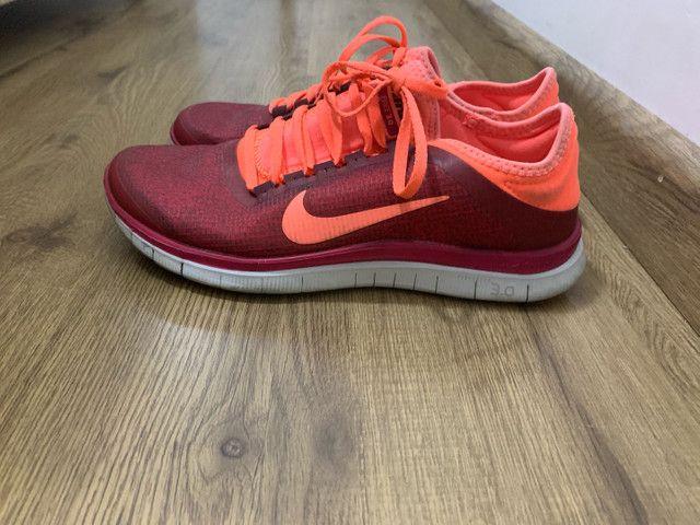 Tênis Nike Free 3.0 feminino pouco uso  - Foto 2