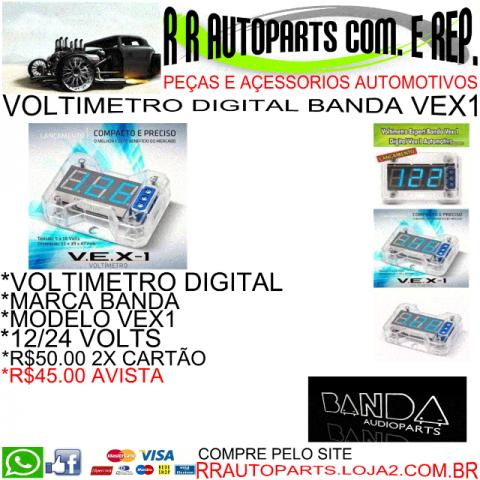 Voltimetro digital banda vex1