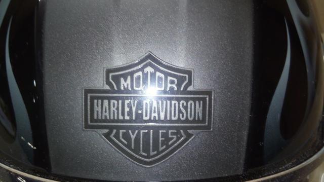 Capacete escamoteável, original Harley Davidson com Dot - Foto 10