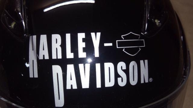 Capacete importado original, Harley Davidson escamoteável - Foto 10
