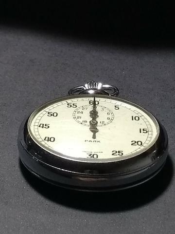 Cronômetro de bolso antigo, Park - Swiss made