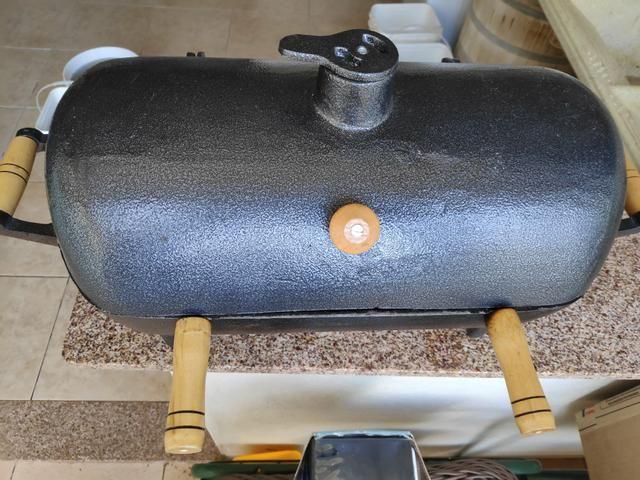 Churrasqueira portátil de Alumínio