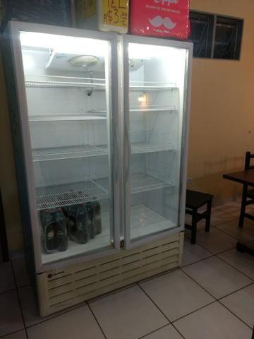 Expositor refrigerador vertical
