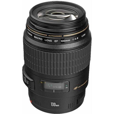 Lente Canon 100mm f/2.8 Macro