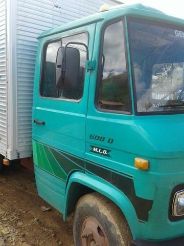 Caminhão bau 608 ano 78 - Foto 9