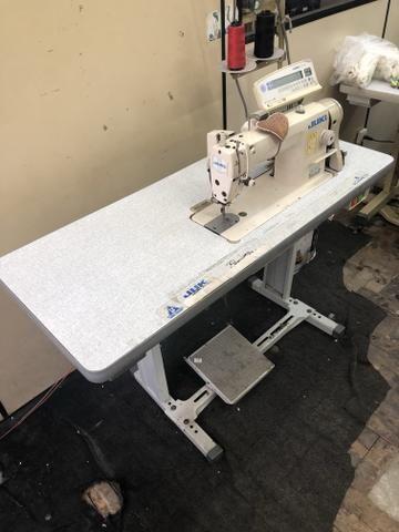 Maquina para produção industrial reta eletrônica semi nova