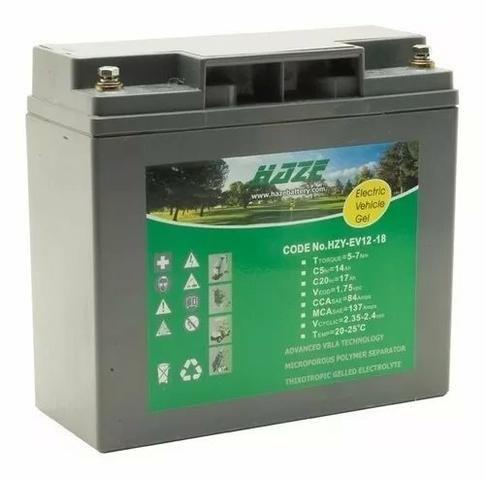 Bateria Ev Ciclo Profundo 12v - 18 ah