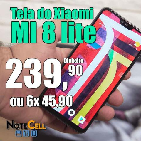 Tela do Xiaomi MI 8 lite