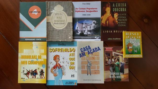 Livros diversos (9) - ver nas fotos