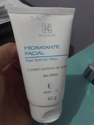 Hidratante facial pele normal e mista hinode