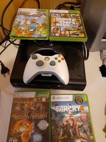 Xbox 360 completo Leia descrição - Foto 3