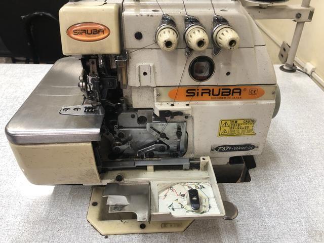 Máquina Industrial SIRUBA Overloque - Foto 3