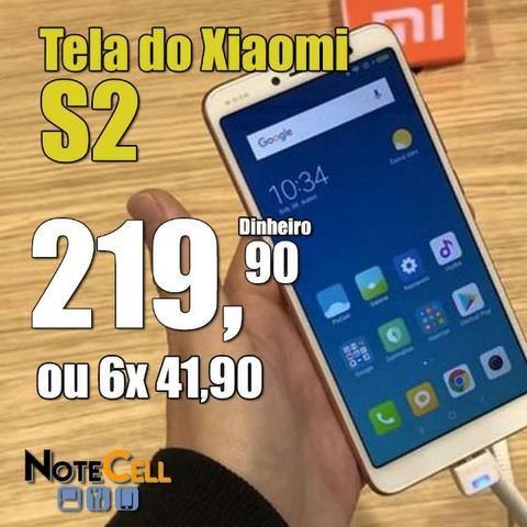 Tela do Xiaomi Redmi S2