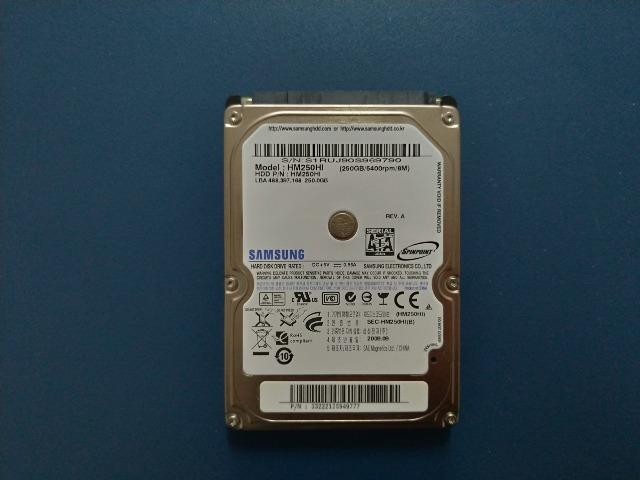 HD Samsung 250gb 2,5