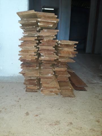 Régua beneficiada para forro 0.10 x 4,00m angelim rajado - Foto 2