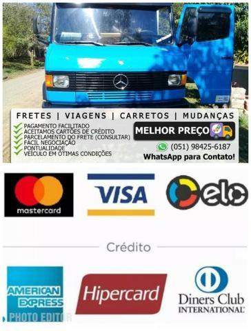 Frete e mudança Canoas RS / Nova Santa Rita, faça seu orçamento watts *