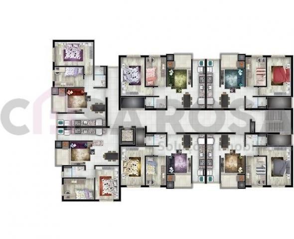 Apartamento à venda com 2 dormitórios em São josé, Flores da cunha cod:143 - Foto 12