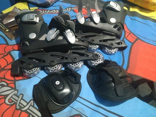 Vendo patins infantil novo